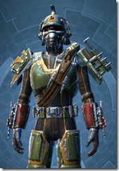 Exhumed Hunter - Male Close