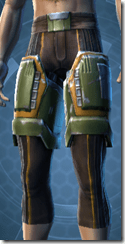 Exhumed Hunter Male Legplates