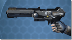 RK-4 Starforged Blaster - Left