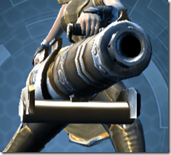 Raider's Cove Assault Cannon - Front