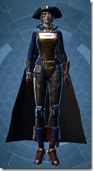 Raider's Cove Warrior - Female Front