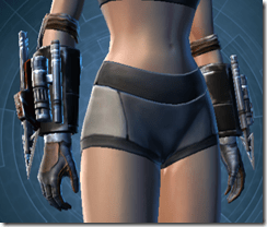 Resurrected Hunter Female Gauntlets
