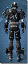 Resurrected Hunter - Male Back