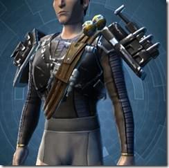 Resurrected Hunter Male Body Armor