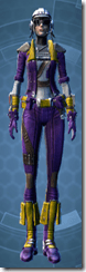 Resurrected Smuggler Dyed