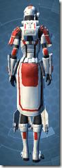 Resurrected Trooper - Female Back