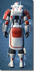 Resurrected Trooper - Male Back