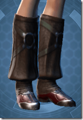 Revanite Agent Imp Female Boots