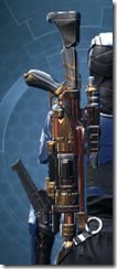 Revanite Blaster Rifle - Stowed