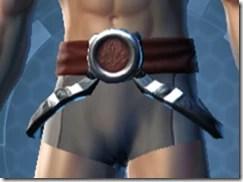 Revanite Hunter Male Belt