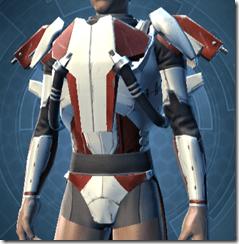 Shield Warden Male Body Armor