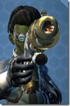 Trimantium Blaster Pistol - Front