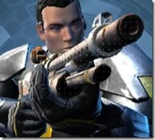Trimantium Blaster Rifle - Front