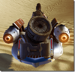 Vectron Scavenger - Back