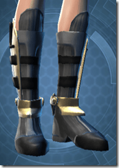 Veda Cloth ver 2 Female Armored Boots
