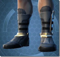 Veda Cloth ver 2 Male Armored Boots