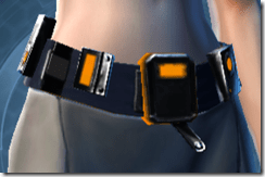 Ventilated Scalene Female Belt