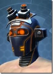 Ventilated Scalene Male Headgear