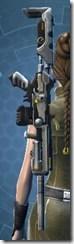 YV-23 Starforged Blaster Rifle - Stowed