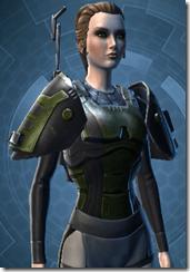 Yavin Trooper Female Body Armor