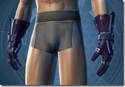 Yavin Warrior Male Body Gloves