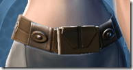 Nefarious Bandit Female Belt