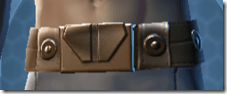 Nefarious Bandit Male Belt