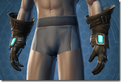 Nefarious Bandit Male Gloves