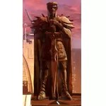 Statue of Naga Sadow