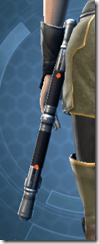 Betrayer's Starforged Dualsaber Stowed