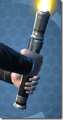 Betrayer's Starforged Lightsaber Back
