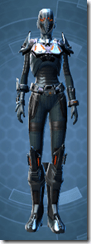 Fearsome Harbinger - Female Front