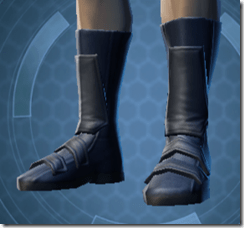 Formal Militant Male Boots
