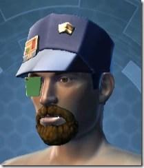Formal Militant Male Hat