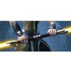 Redeemer's Starforged Dualsaber*