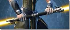 Redeemer's Starforged Dualsaber