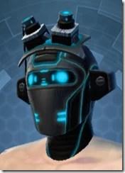 Blue Scalene Male Headgear