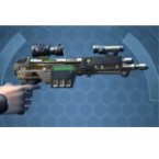 CZR-9001 Combat Medic / Combat Tech / Eliminator / Supercommando Blaster Pistol
