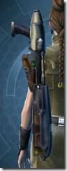 CZR-9001 Blaster Rifle - Stowed