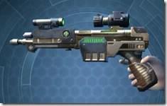Exceptional Blaster Pistol - Left