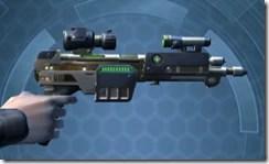 Exceptional Blaster Pistol - Right