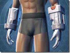 Frontline Veteran Male Gauntlets