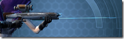 Gray Helix Blaster Rifle - Right