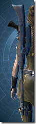 Gray Helix Sniper Rifle - Stowed