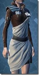 Martial Pilgrim Female Chestguard
