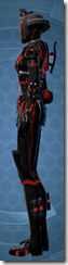 Red Scalene - Female Left
