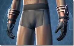 Revanite Vindicator Male Gauntlets