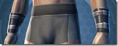 Revealing Bodysuit Male Wristguards