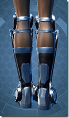 Ardent Blade's Boots - Female Back