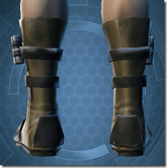 Ardent Blade's Boots - Male Back